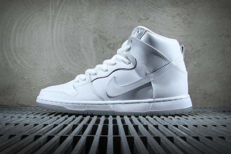 reputable site 2d12b 331e4 Nike SB Dunk High Pro White/Light Base Grey | HYPEBEAST
