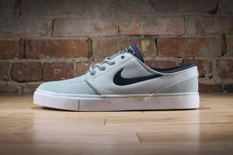 "744911dec930 Nike SB unveils a new ""Grey Mist"" rendition to the popular Nike SB Zoom  Stefan Janoski Leather"