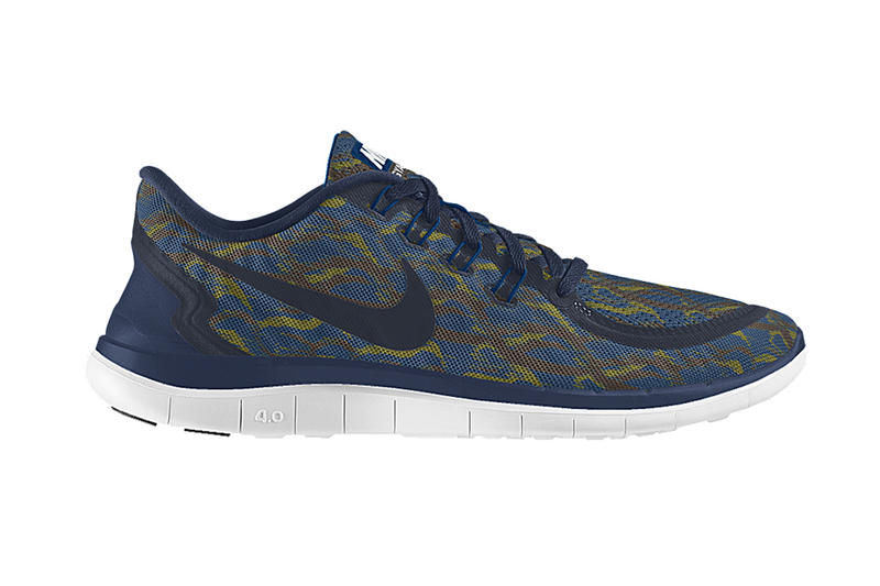 """finest selection 5715f e2594 New on NIKEiD is a """"GYAKUSOU Camo"""" option that can be applied to the Nike  Free 4.0 Hybrid. The Jun"""