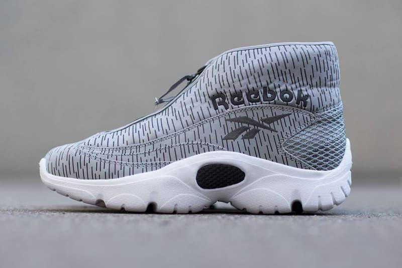 "newest ff71e 733b1 Reebok presents the latest ""Flat Grey"" rendition of the Reebok Shroud.  Boasting a unique textile"