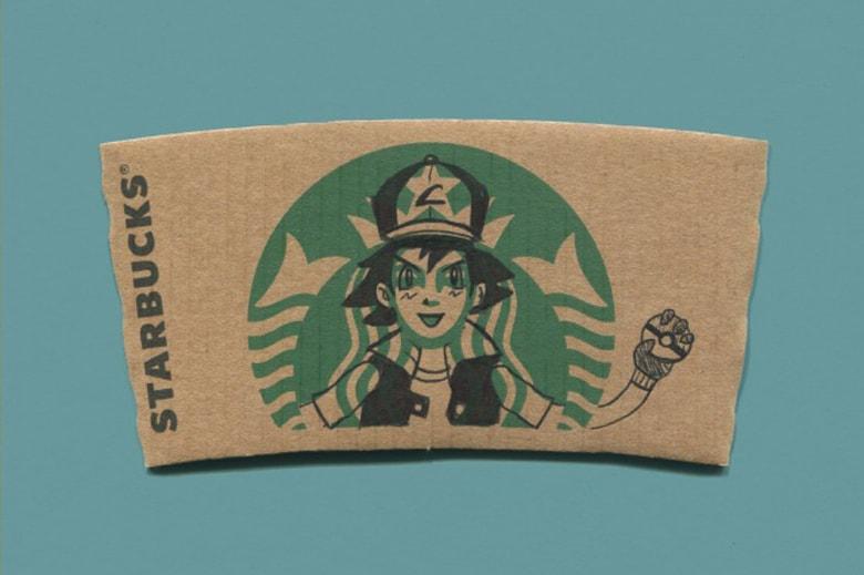 sleevebucks illustrated starbucks cup sleeves hypebeast