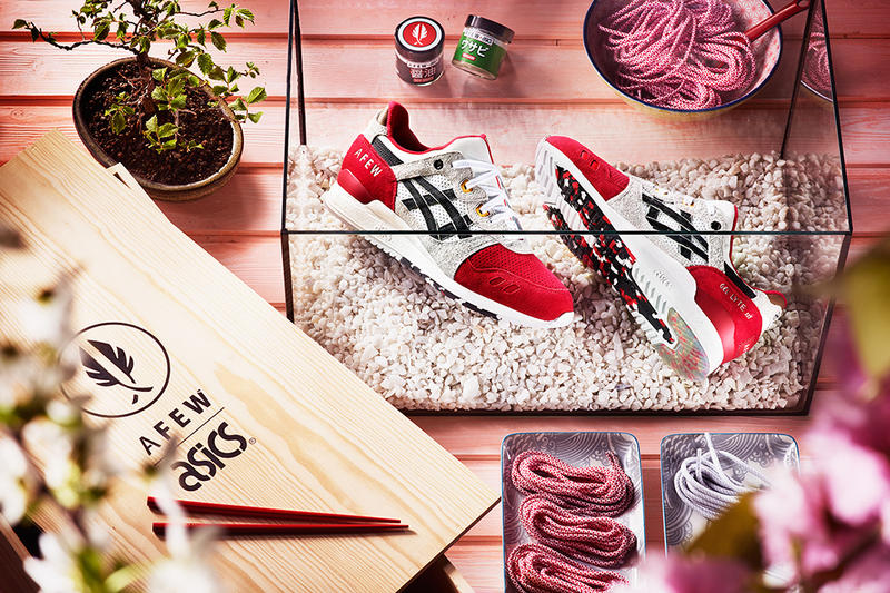 reputable site bb832 d36c7 A Closer Look at the Afew x ASICS GEL-Lyte III