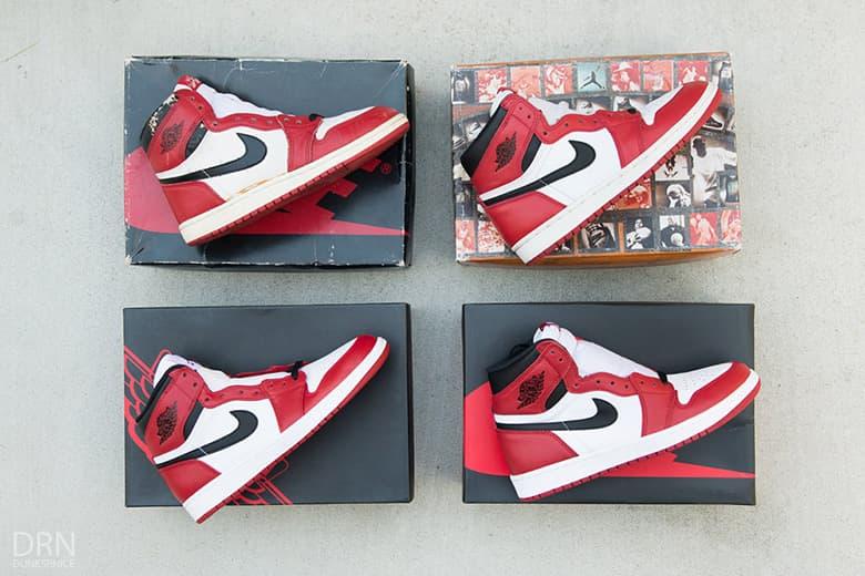 buy popular 076fa 45c5d A Detailed Comparison of Four Different Air Jordan 1 ...