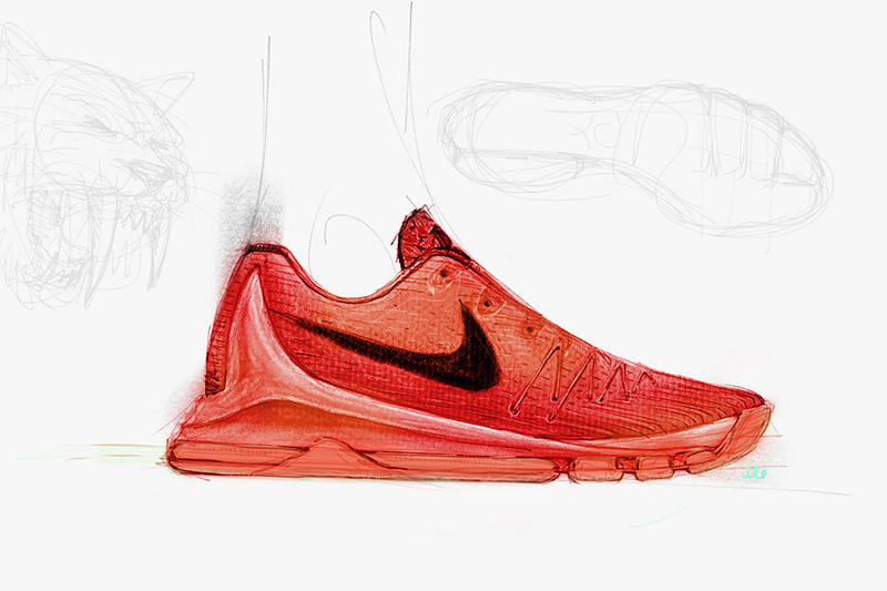 6f03bf716038 Kevin Durant took to Twitter earlier today to offer up a glimpse of his  upcoming signature Nike KD