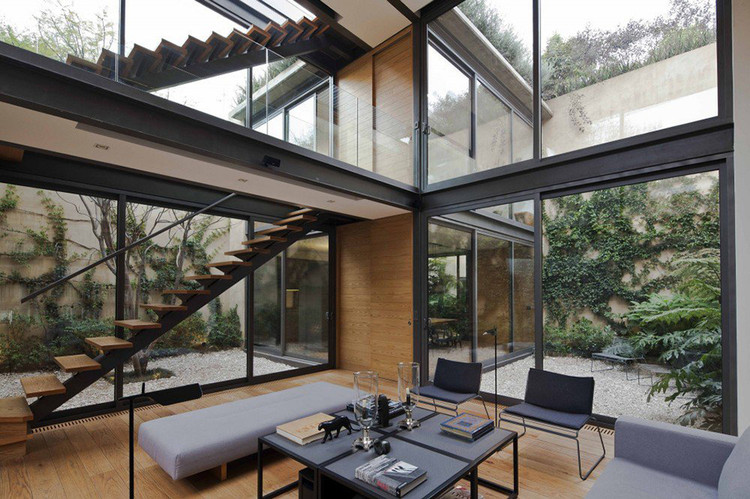 best service f4065 207c7 A Hidden House With Four Courtyards in Mexico City