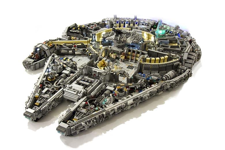 A 10,000-Piece LEGO Millennium Falcon