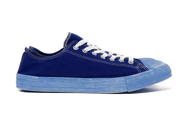 1581ea467e0b ... HOMME 2015 Spring Summer Dyed Cotton Canvas Sneakers. Japanese fashion  house COMME des GARÇONS has released two interpretations of the classic All  Star