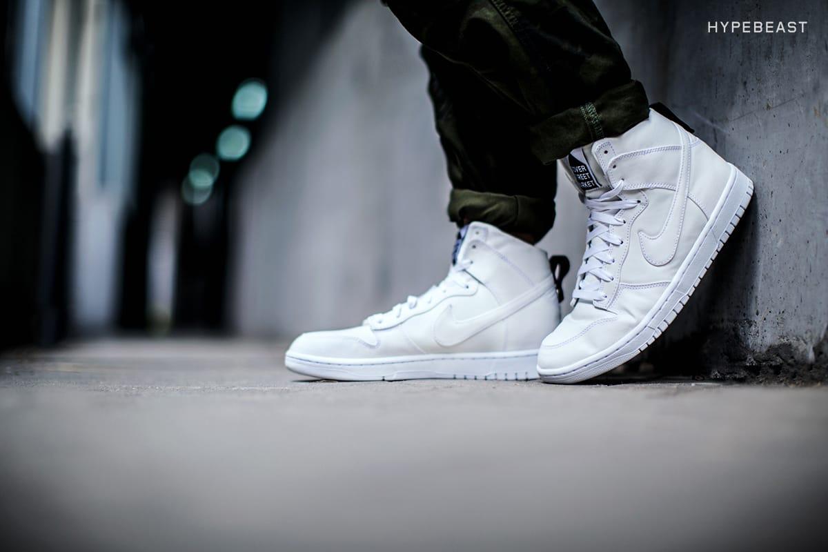 x Nike Dunk Lux High Sneaker