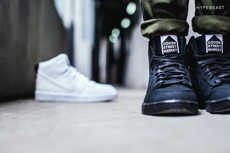 f74c2215676 A Closer Look at the Dover Street Market (DSM) x Nike Dunk Lux High ...