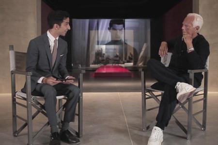 Giorgio Armani Talks to Business of Fashion About His Fashion Legacy
