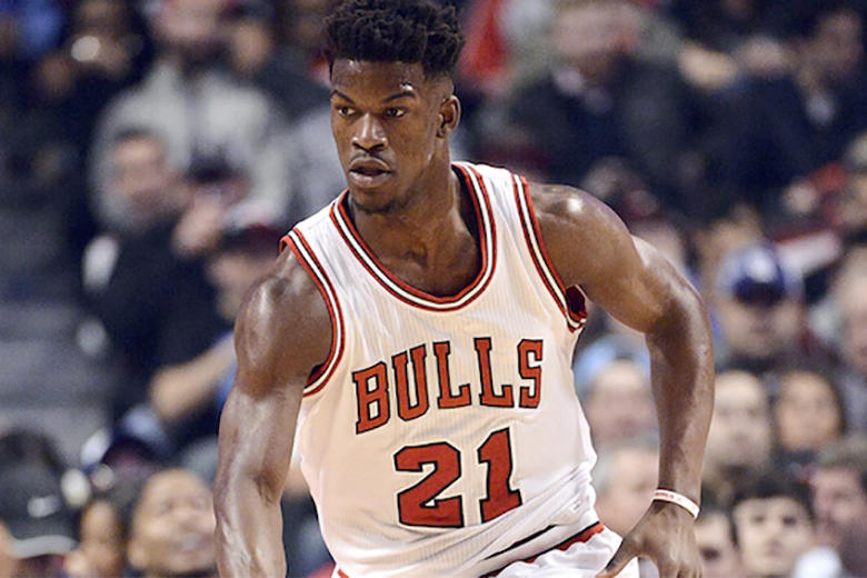 Jimmy Butler Dropped adidas and Took a 75% Pay Cut to Wear Jordans This Season