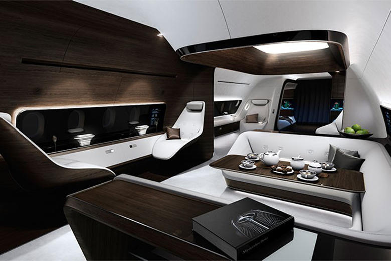 Mercedes-Benz and Lufthansa Collaborate to Refine the VIP Airline Cabin