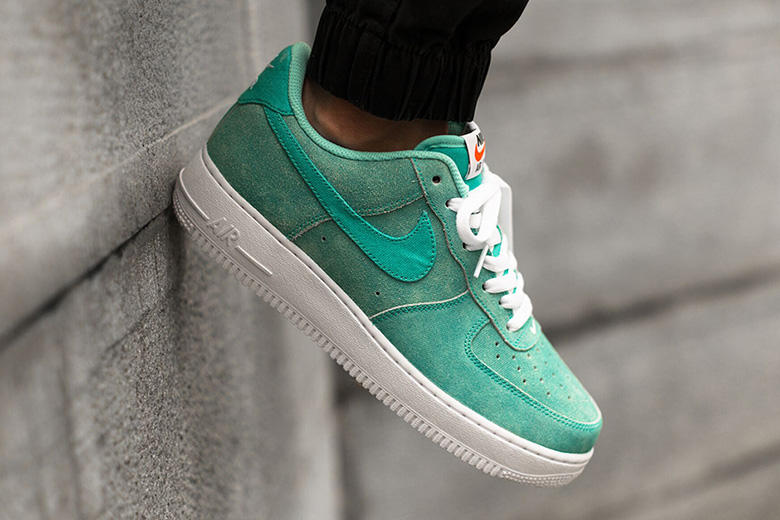 a78724fd7782f6 Nike s classic Air Force 1 silhouette received a seaside makeover in the  latest Yacht Club with an