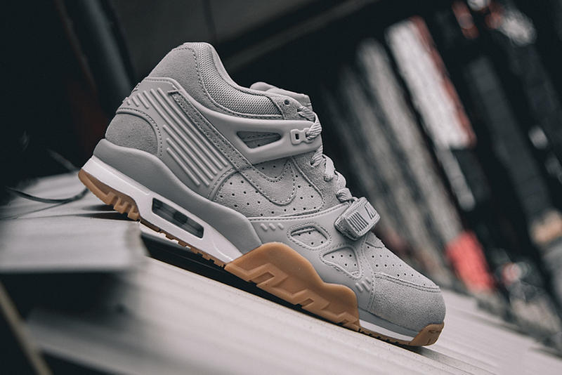 finest selection bf2f3 43932 Bo Jackson s Nike Air Trainer 3 steps back onto the scene in an all new  Wolf Grey colorway. The