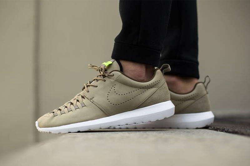 0778a3f94791 Nike presents a new colorway of the woven version of its ever-popular Roshe  silhouette