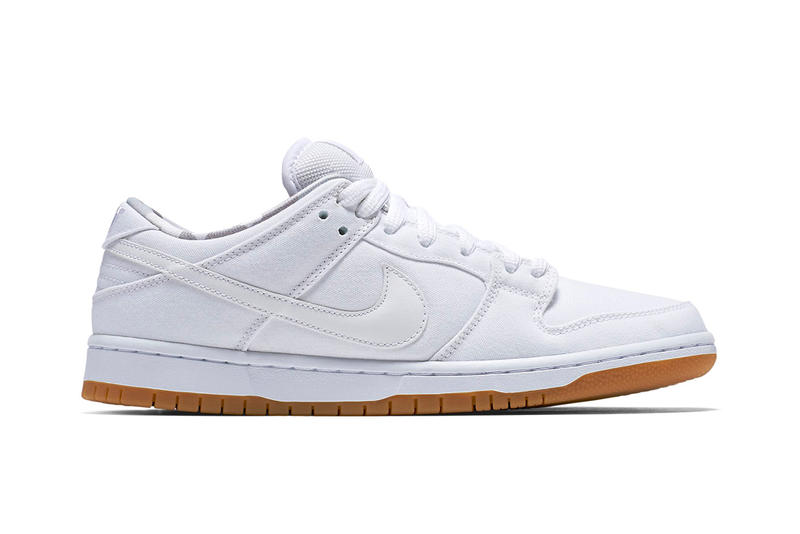 Nike SB Dunk Low White/Gum