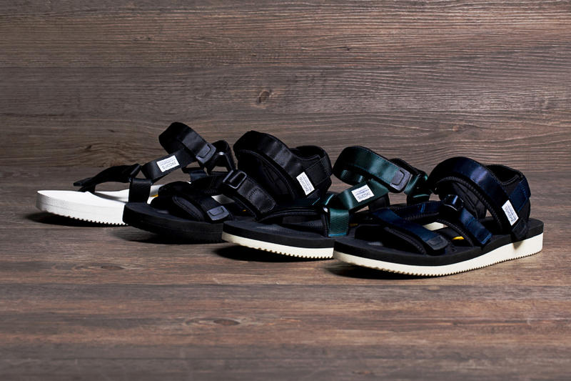c358fb4244a9 Japanese label SUICOKE has released a new range of its highly-coveted  sandals for the 2015