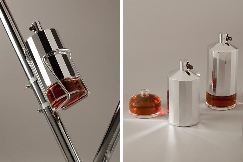 "Yorgo&Co Designs the ""Martell"" Cognac Flask for Your Bike"