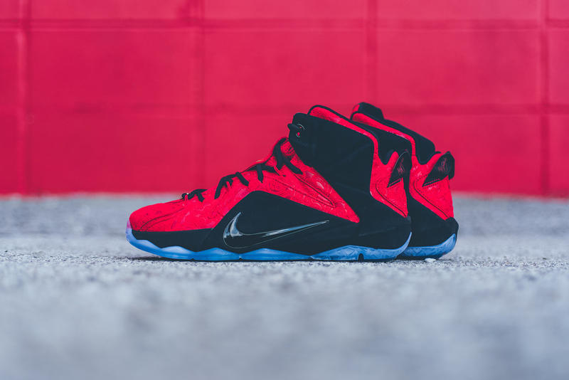 buy popular 25bf3 d9d42 Take a better look at this subtly luxurious offering from the LeBron 12  family.