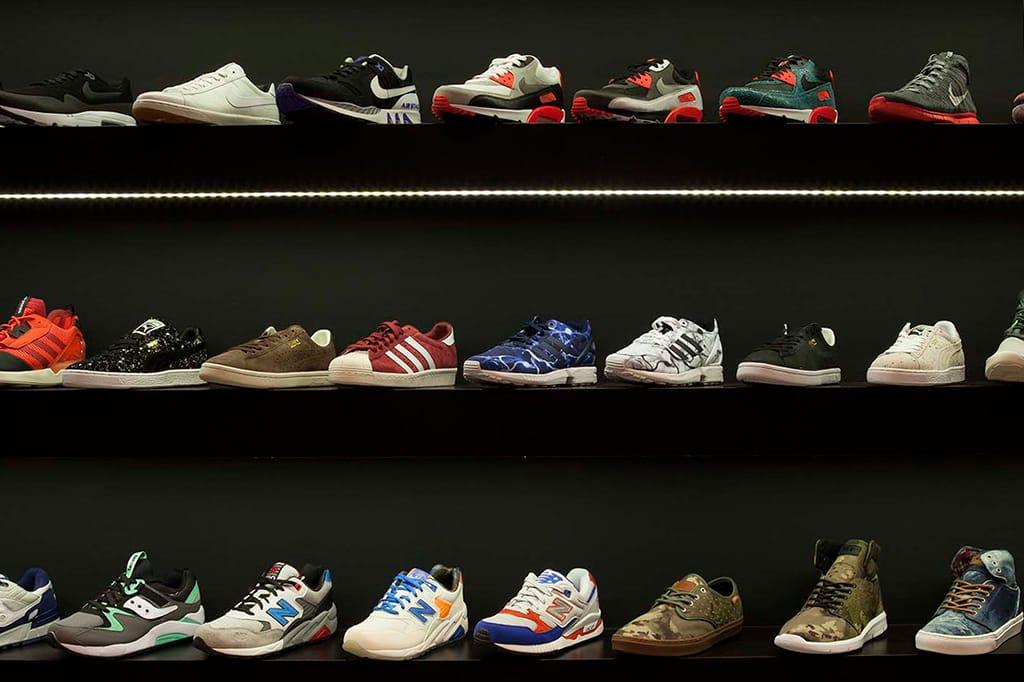 Sneaker Store Anatomy