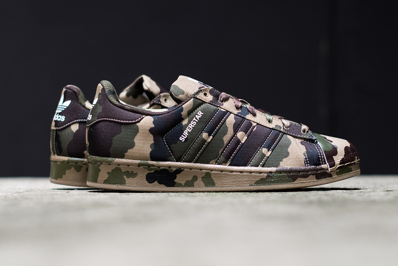 adidas Originals Superstar Camo/Hemp | HYPEBEAST