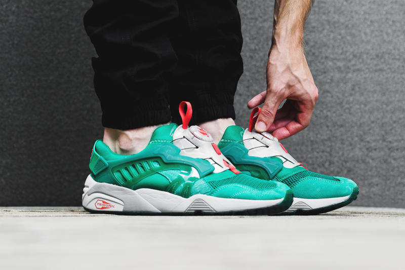 ALIFE and Puma collaborate on a Disc Trinomic sneaker for Spring Summer. e741c430ec8a