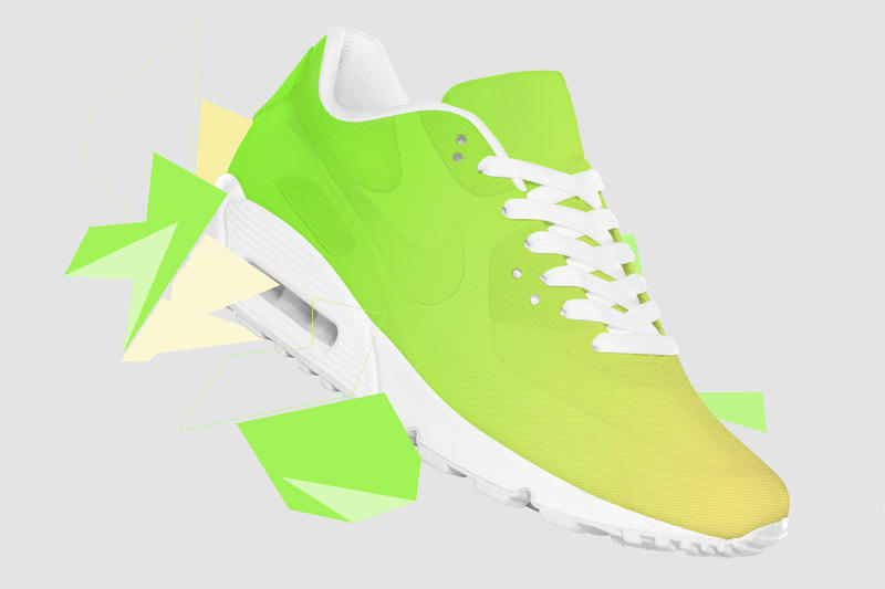 """""""Shift"""" Color-Changing Sneaker Concept"""
