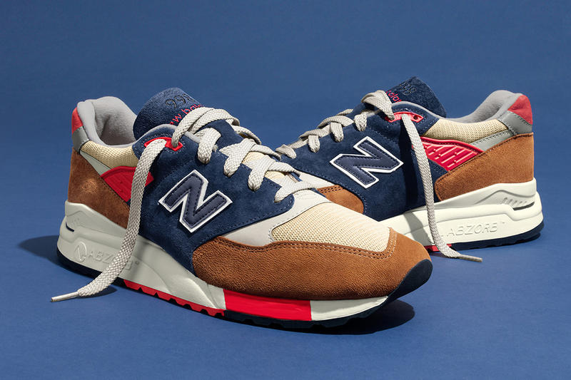 J.Crew and New Balance team up to drop a 998 inspired by the ballparks of  the Big Apple. 7a45f6afdb53
