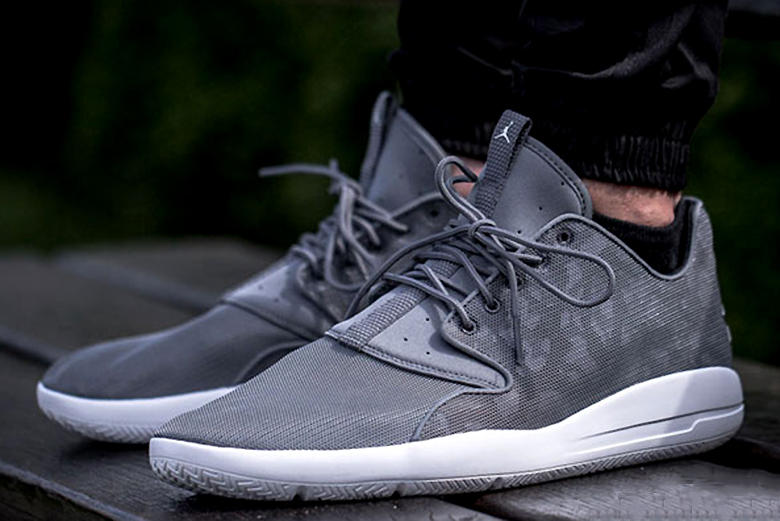 548d1d23cfbb47 A clean all-gray colorway for the Jordan Eclipse silhouette.