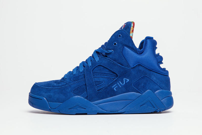 "f50a46e63aa7 Lemar   Dauley reprise their relationship with FILA for the ""Wavvy Blue""  drop."