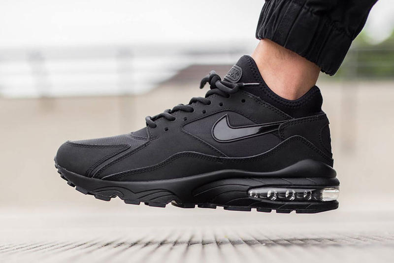 c0279cd153aab9 Nike s Air Max 93 is the latest silhouette to get the all-black color  treatment.
