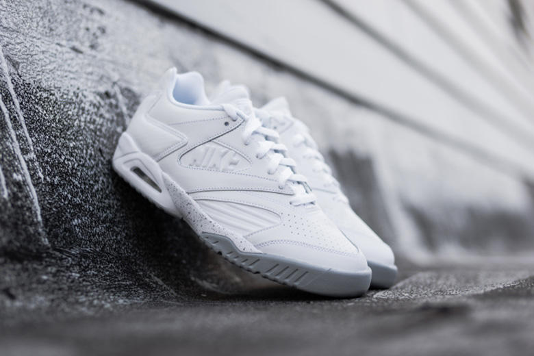 94f1c6c8d817 Nike Air Tech Challenge IV Low White Wolf Grey. The Agassi classic is back  in a clean and simple colorway perfect for the summer.
