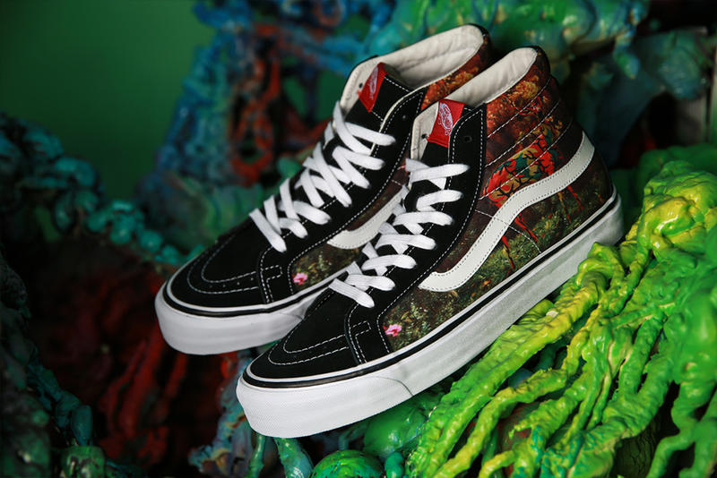 """44fb8c57722 Ron English applies his """"POPaganda"""" aesthetic to this second collab between  Vans and UBIQ."""