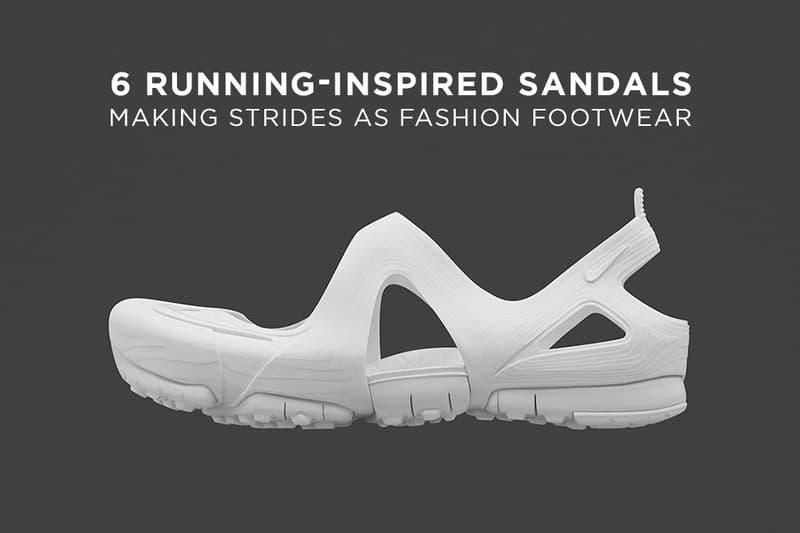 513b05626 6 Running-Inspired Sandals Making Strides as Fashion Footwear ...