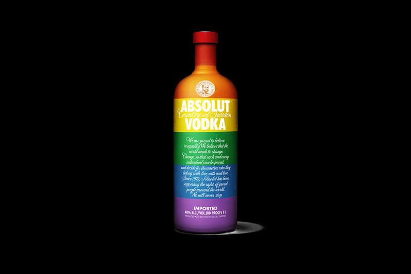 """Absolut Supports the LGBT Community With Its Limited Edition """"Colours"""" Bottle"""