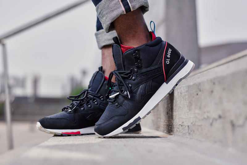 Detroit-based Distinct Life puts its own spin on the Reebok mid-top. 7193e29b6