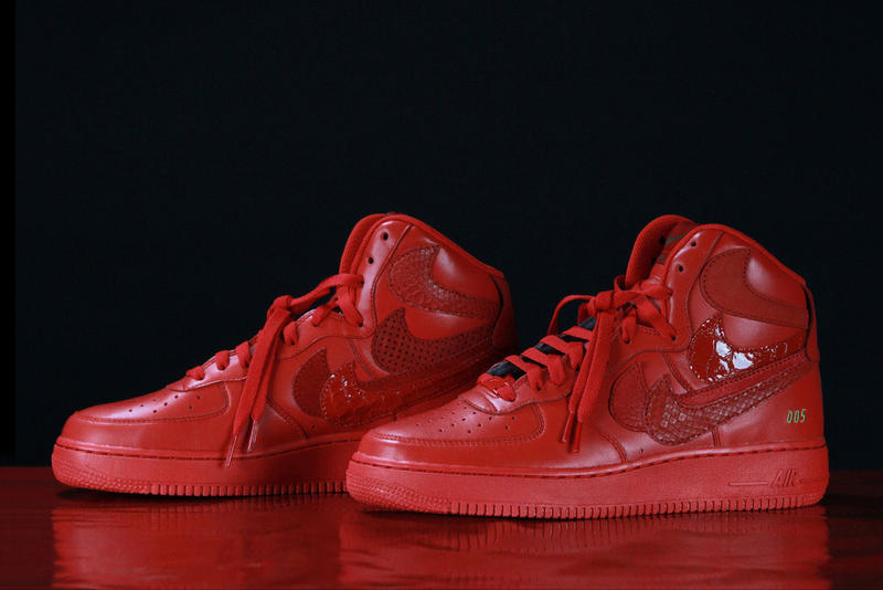 0d38b138de John Geiger and The Shoe Surgeon s Nike Air Force 1 High