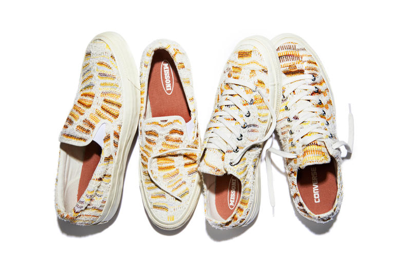 d4a539f46652 Converse and Missoni returns with an upscale collection featuring two  silhouettes.