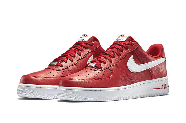 Nike Air Force 1 Low University Red Hypebeast