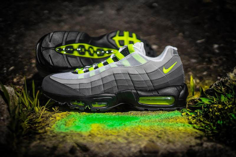 "buy popular fa0ca 9a36c Nike brings back the ""Neon"" 95 to celebrate its 20th birthday."