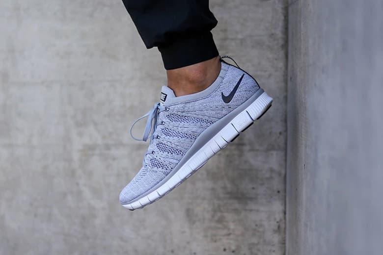 "Nike Free Flyknit NSW ""Wolf Grey"""