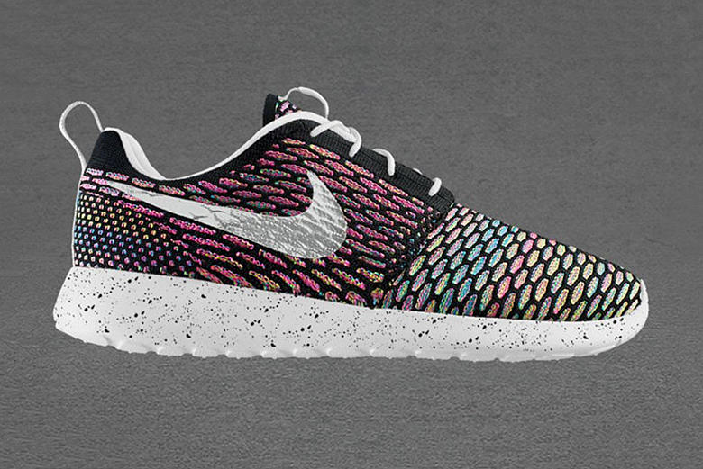 "Nike Roshe Flyknit iD Is Now Available in ""Multicolor"""