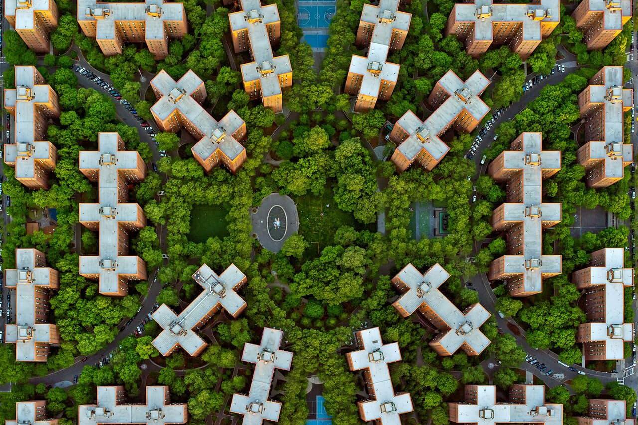 Photographer Jeffrey Milstein Turns New York & LA Neighborhoods Into Beautiful Patterns
