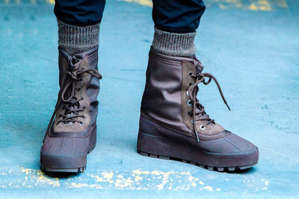 The Kanye West x adidas Yeezy 950 Boot