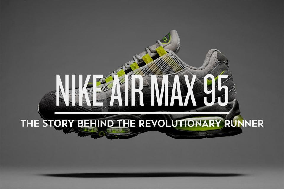 5b3ca8ec28 Nike Air Max 95 Sneaker: The Story Behind the Revolutionary Running ...