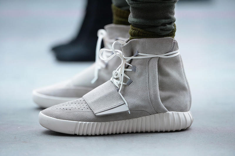 the best attitude 693dc f7cb7 Kanye West Reacts to the First Completed Pair of Yeezy 750 ...