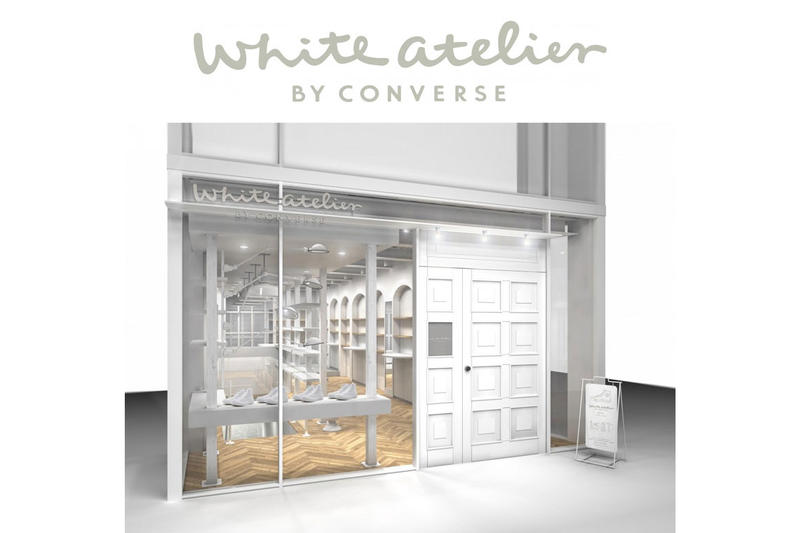 2ddb921e6b40 White atelier by CONVERSE Is Complete With a Customization Space ...