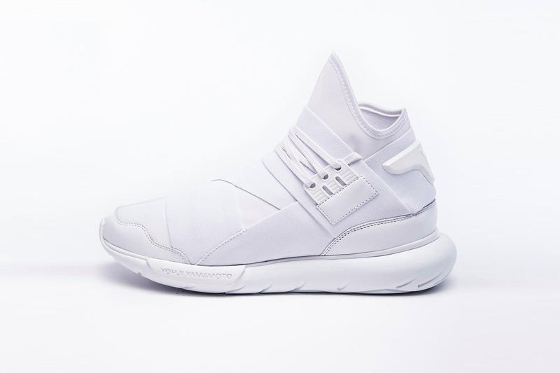 a50378696 Y-3 drops the mic on the all-white trend with a clean version of the Qasa  High.