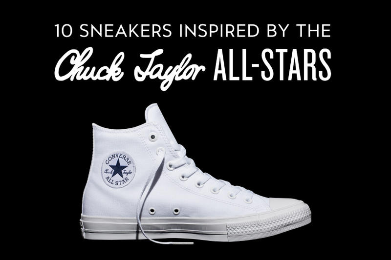 10 Sneakers Inspired by the Converse Chuck Taylor All-Stars  75a67131accf