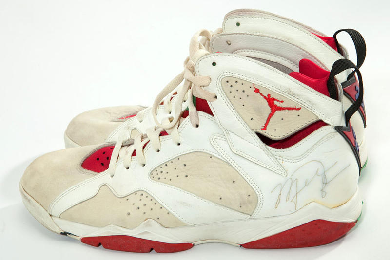 315448313c35e4 A Selection of Michael Jordan s Game-Worn Sneakers Are up for ...